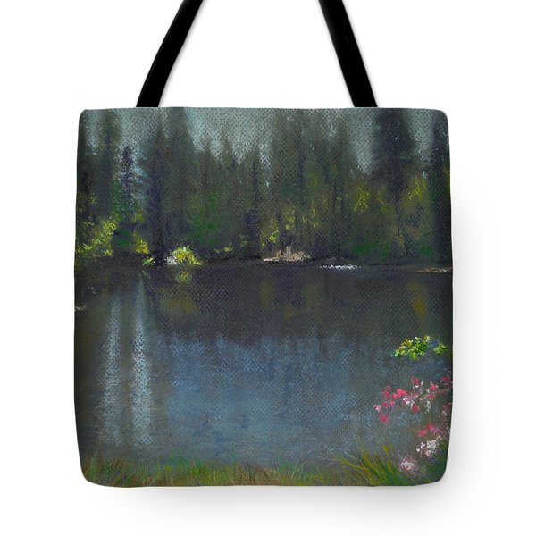 The Heart Of California Tote Bag