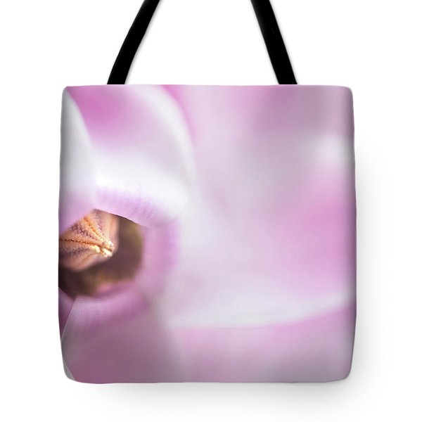 The Heart Of Cyclamen Tote Bag