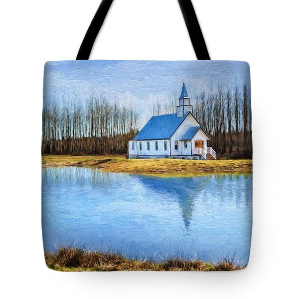 The Heart Of It All - Landscape Art Tote Bag