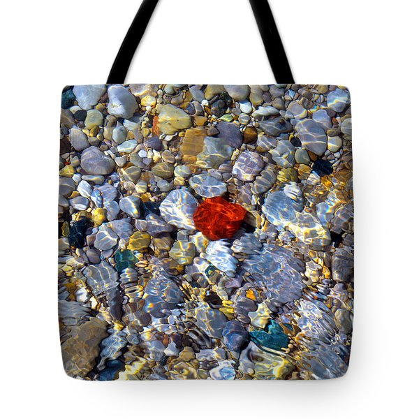 Tote Bag featuring the photograph The Heart Of Lake Michigan by SimplyCMB