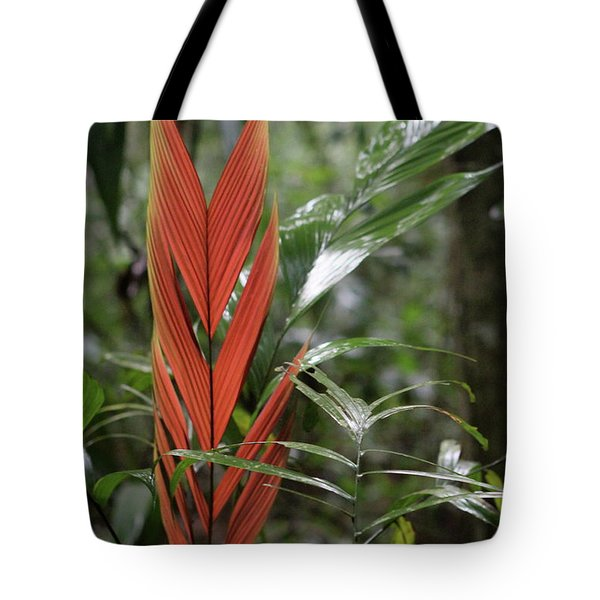 The Heart Of The Amazon Tote Bag