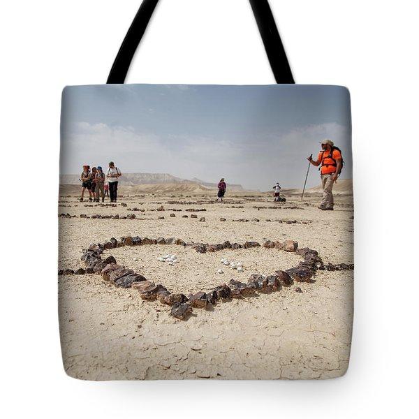 The Heart Of The Desert Tote Bag