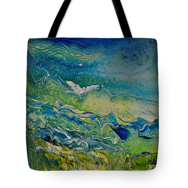 The Heavens And The Eart Tote Bag