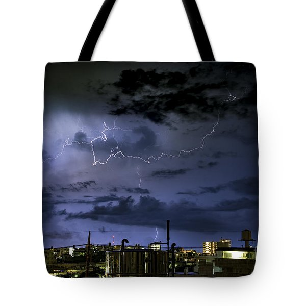 The Heavens Attack Tote Bag