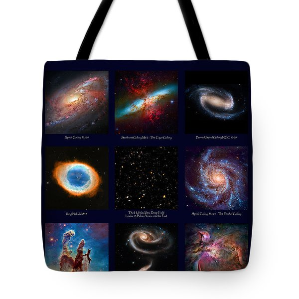 The Heavens - Images From The Hubble Space Telescope Tote Bag