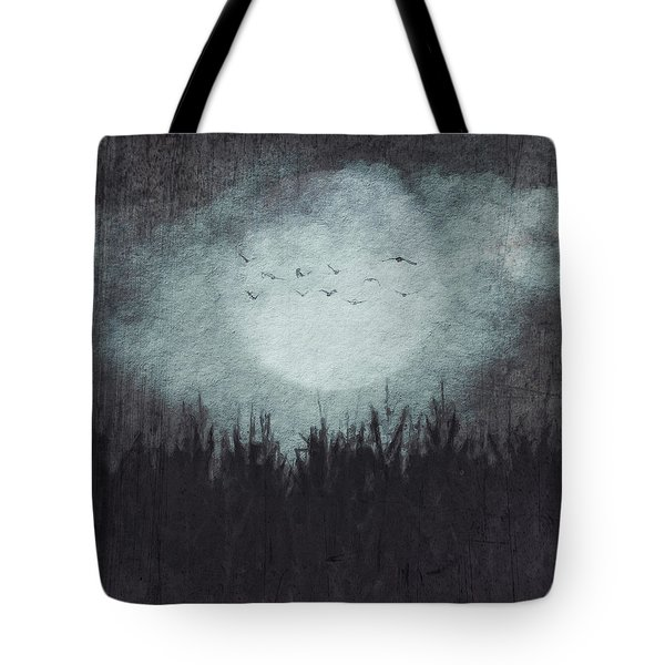 The Heavy Moon Tote Bag