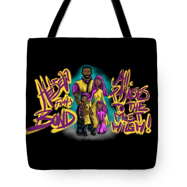 The Hebrew Family2016 Tote Bag
