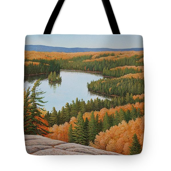The Height Of Autumn Tote Bag