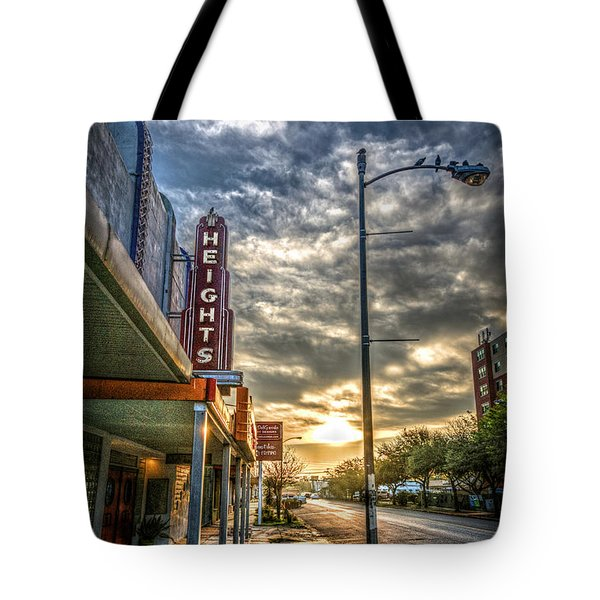 The Heights At Morning Light Tote Bag