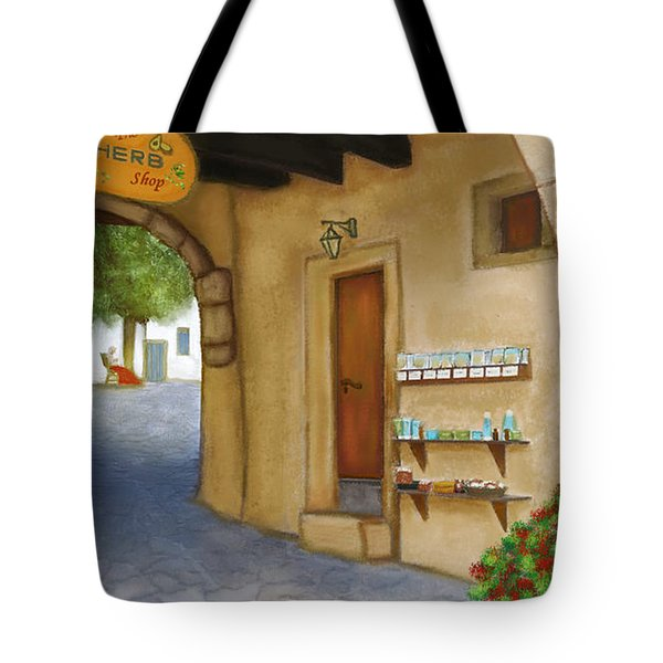 The Herb Shop Tote Bag