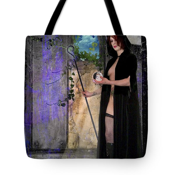 The Hermit Tote Bag by Tammy Wetzel