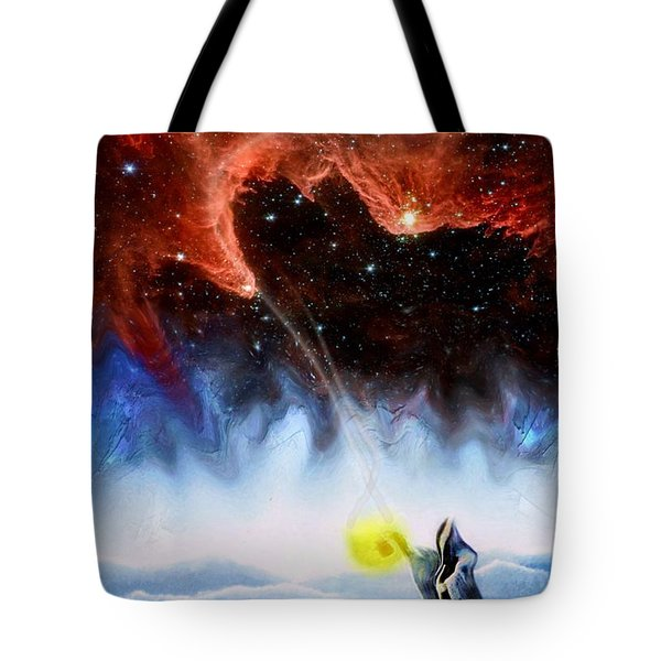 The Hermit's Path Tote Bag
