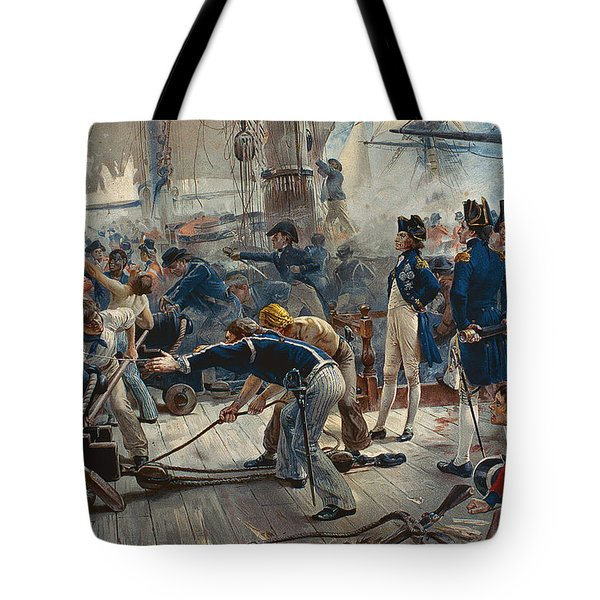 The Hero Of Trafalgar Tote Bag