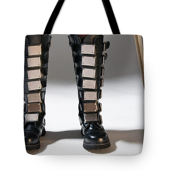 The Heroine Stands Tote Bag