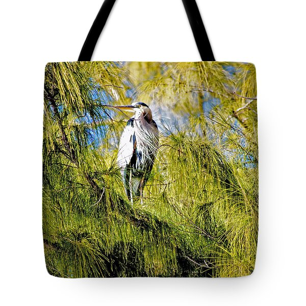 The Heron's Whiskers Tote Bag