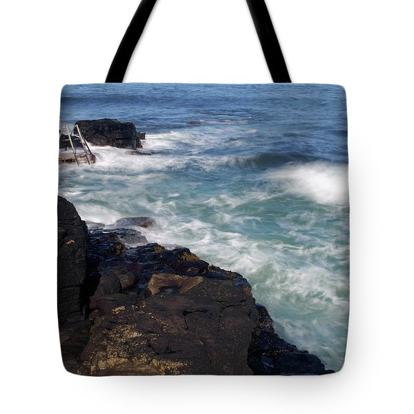 Tote Bag featuring the photograph The Herring Pond, Portstewart by Colin Clarke