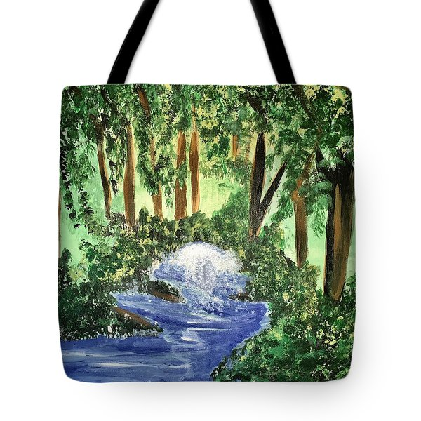 The Hidden Forest Tote Bag by Angela Holmes