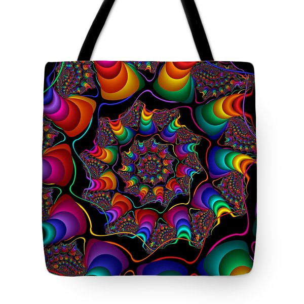 Helicoids Tote Bag