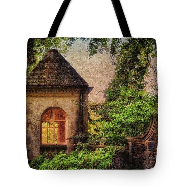 The Hideaway Tote Bag by Lois Bryan