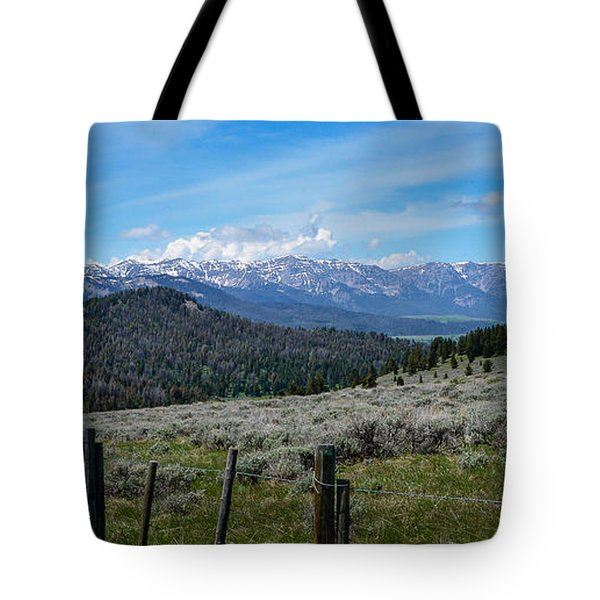 The High Divide  Tote Bag