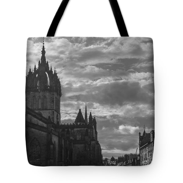 The High Kirk Of Edinburgh Tote Bag