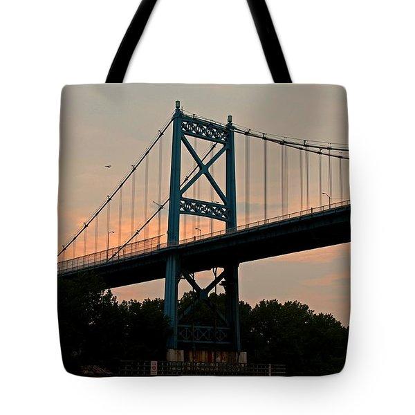 The High Level Aka Anthony Wayne Bridge I Tote Bag