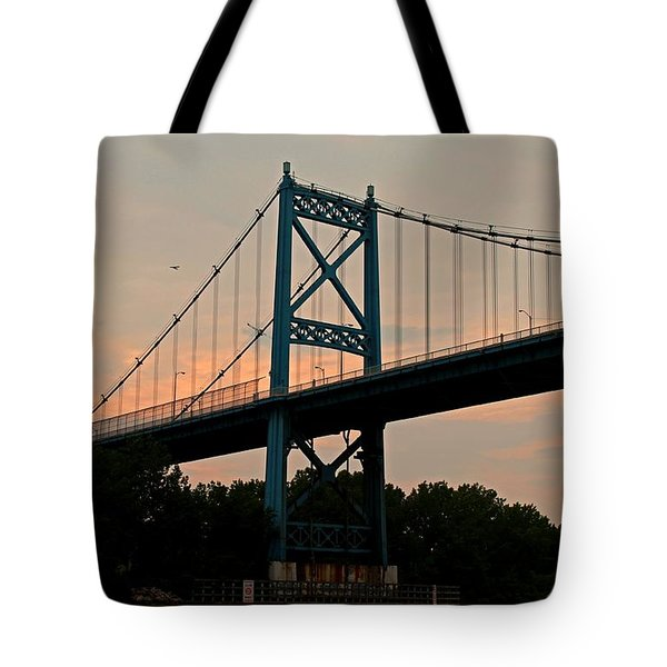The High Level Aka Anthony Wayne Bridge I Tote Bag