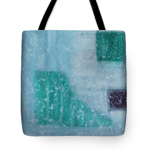 Tote Bag featuring the painting The Highest Realm Is The Art by Min Zou
