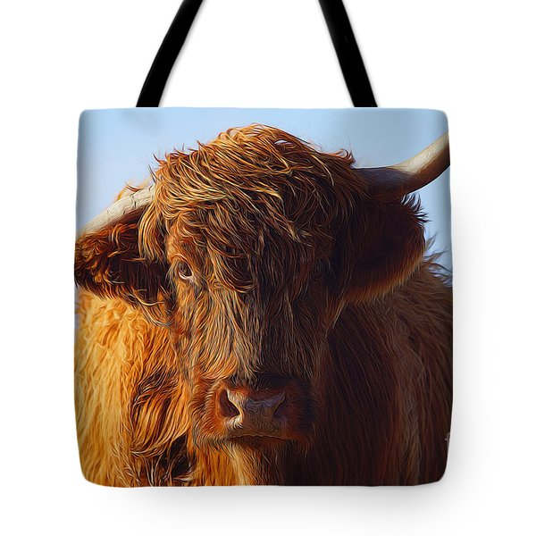 The Highland Cow Tote Bag