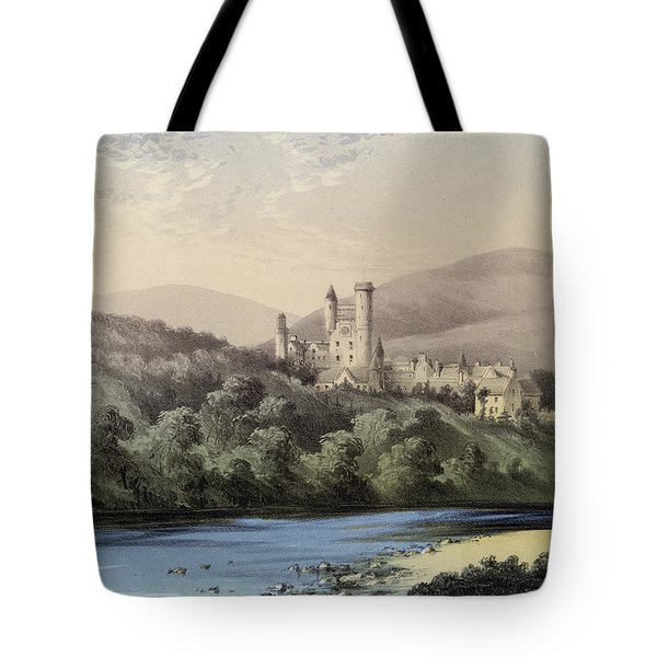 The Highland Home, Balmoral Castle Tote Bag by English School