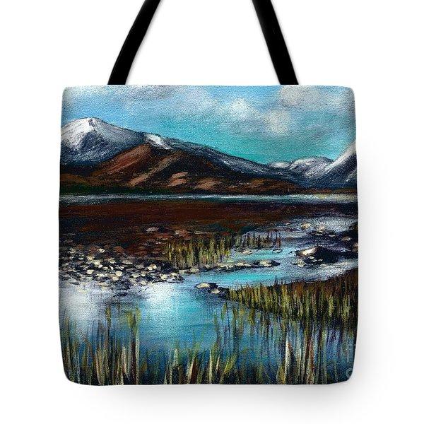 The Highlands - Scotland Tote Bag
