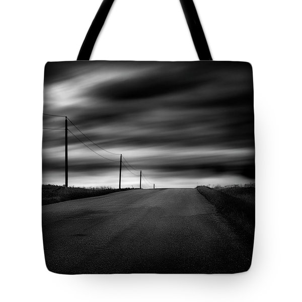 The Highway Tote Bag by Dan Jurak