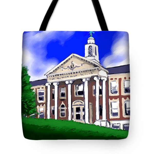 The Hill Tote Bag by Jean Pacheco Ravinski