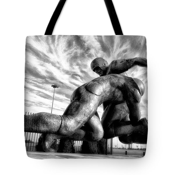 The Hit Tote Bag by Bill Cannon