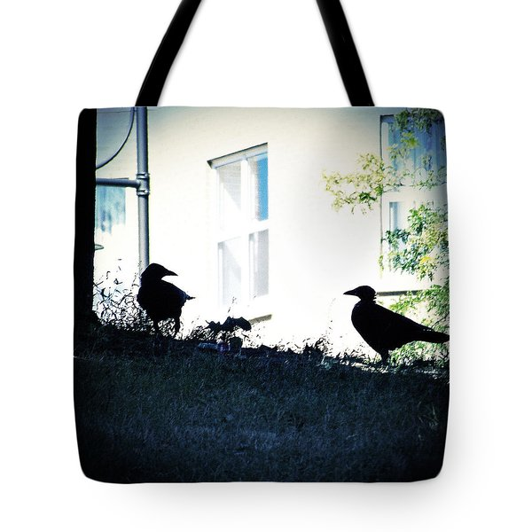 The Hitchcock Moment Tote Bag