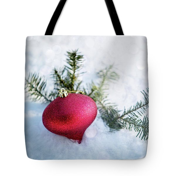 Tote Bag featuring the photograph The Holidays by Rebecca Cozart