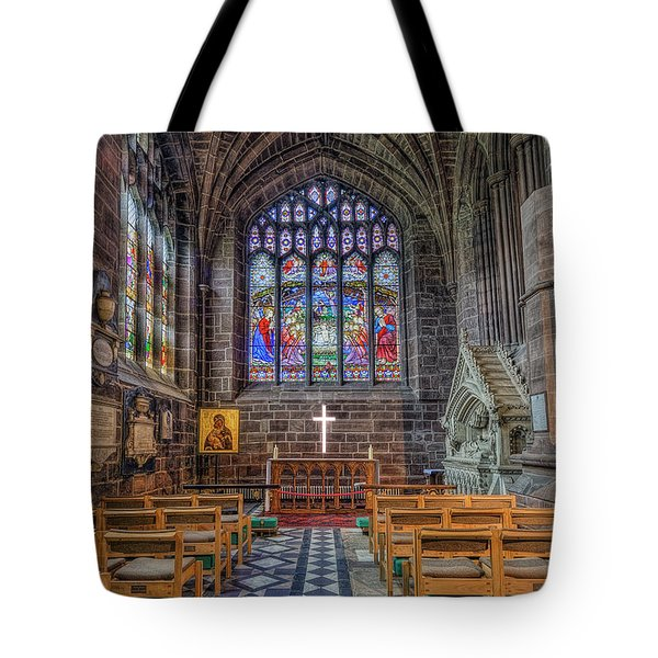 Tote Bag featuring the photograph The Holy Cross by Ian Mitchell