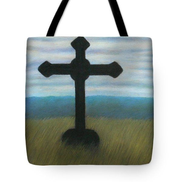 The Holy Cross Tote Bag