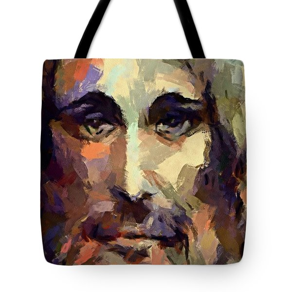 The Holy Face Of Jesus  Tote Bag