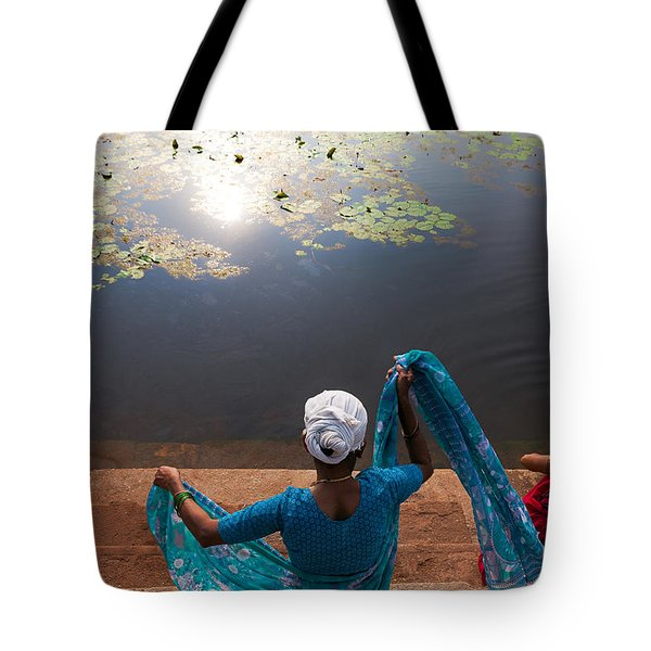 The Holy Pond Tote Bag