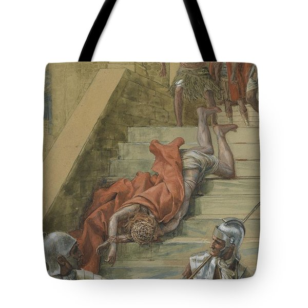 The Holy Stair Tote Bag by Tissot