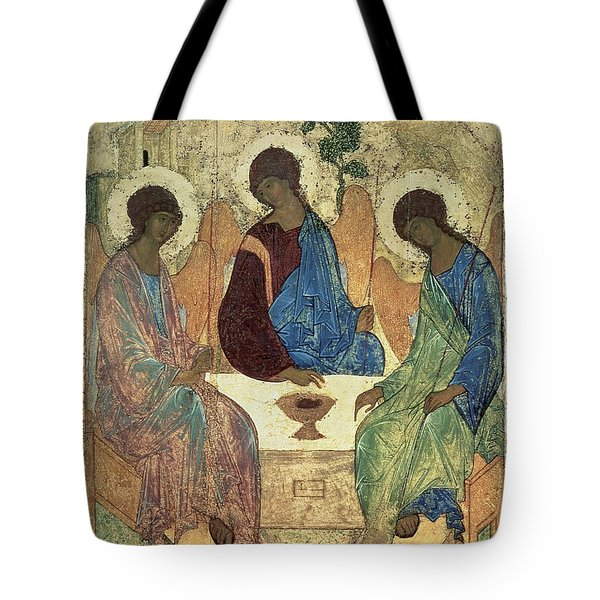 The Holy Trinity Tote Bag by Andrei Rublev