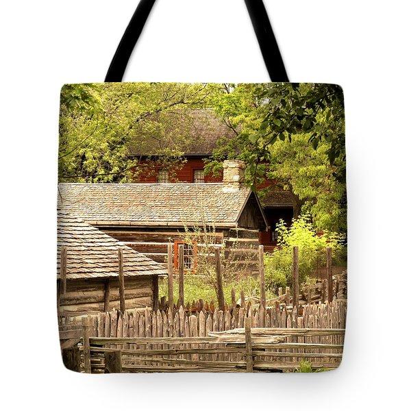 The Homestead Tote Bag by Ian  MacDonald