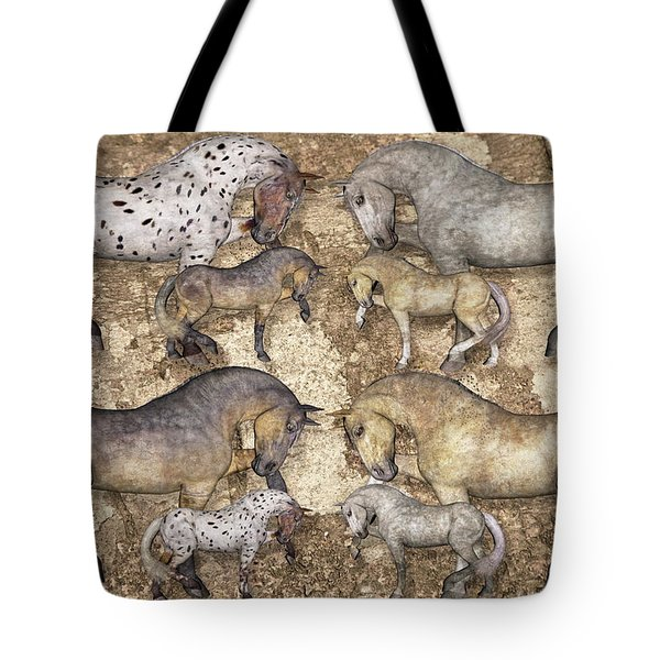 The Horse Collection Tote Bag