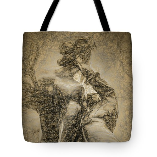 Tote Bag featuring the photograph The Horse Tamer by Paul Wear