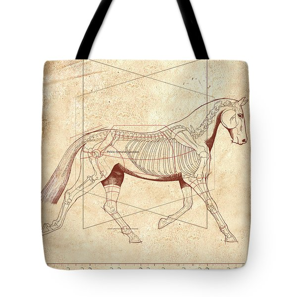 The Horse's Trot Revealed Tote Bag