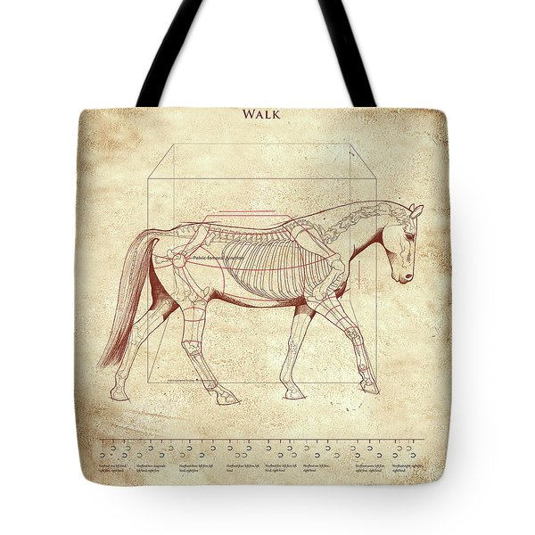 The Horse's Walk Revealed Tote Bag