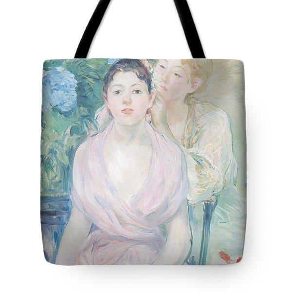 The Hortensia Tote Bag by Berthe Morisot