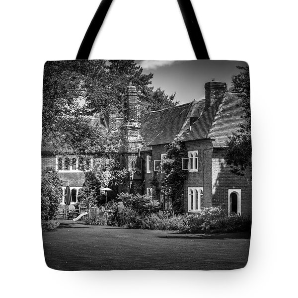 Tote Bag featuring the photograph The House At Beech Court Gardens by Ryan Photography