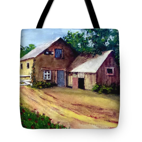 The House Barn Tote Bag